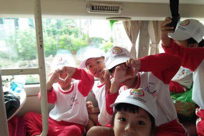 Chuyến dã ngoại thú vị của cháu trường mẫu giáo Hoa Mai